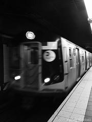 Subway (Harley Mitchell) Tags: subway nyc newyorkcity blackandwhite dark