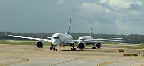 Airbus A350 & Boeing 777