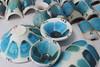 Testes de esmaltes ceramicos para azul turquesa (Beth Coe Maeda) Tags: ceramicaartistica ceramicglazes turquoise turkis pottery ceramista ceramicacontemporanea ceramicadeatelier ceramic glazes esmaltes glasuren smalti glasurer glaçures keramiker topfer potter artesano pottemager experimentos fazerceramica tomakepottery highfire