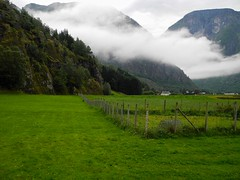 Norway (1) (Woody H1) Tags: norway baltic nature farm clouds mountains green eidfjord viking cruise country scandinavia fog