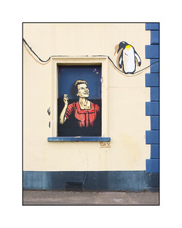 Street Art (Sr.X), South East London, England.
