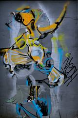 Lady dancer (Chris Hamilton Photography) Tags: urban street dancer lady london colour flickt art artwork