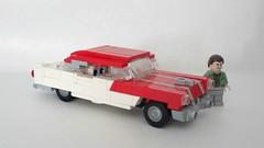 1956 Pontiac Catalina (LegoEng) Tags: pontiac 1956 1950s catalina trailer shasta american america legoeng lego