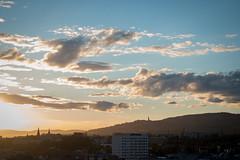 Norwegian Sunset, Oslo (jens.gothilander) Tags: oslo norway sightseeing tourist visitor vacation summer 2017 swede tourism nikon d5500 sky sunset roof top norwegian anker apartments grünerløkka view