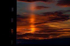 Atardecer Sunset Zaragoza, Spain (westfalico) Tags: zaragoza sunset atardecer puestadesol aragon cielo nubes