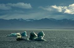 Svalbard sunshine (OzzRod) Tags: pentax k3 smcpentaxda55300mmf4558 arctic svalbard mountains fjiord icebergs seascape