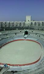 Arena II (Grüner Nomade) Tags: frankreich provence arles amphitheatervonarles amphitheater arena tribüne 201603