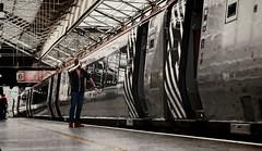 The Crewe Salute (whosoever2) Tags: england unitedkingdom uk gb greatbritain nikon d7100 2017 railway railroad train july virgin voyager man salute station