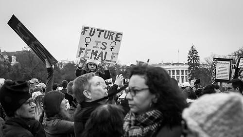 Senator Harris at the Women's March