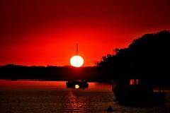 DSC_0001 (5) (RUMTIME) Tags: sunset coochiemudlo coochie water boats redlands queensland