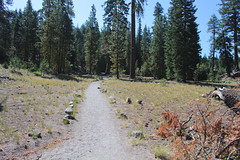 A dusty trail, at the start of the hike (rozoneill) Tags: lassen volcanic national park chaos crags crag lake manzanita wilderness hiking california redding