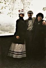 Exploring Thun - Linda Smith, David Bentata & Jean Upton (photo courtesy of Jean Upton)
