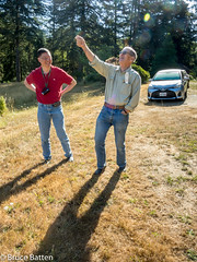 170821 Scotts Mills-05.jpg (Bruce Batten) Tags: trees locations oregon trips occasions subjects shadows plants friendsacquaintances people vehicles usa automobiles scottsmills unitedstates us flowers reflections