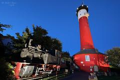 Alter Leuchtturm (ab-planepictures) Tags: leuchtturm zug wangerooge norseeinsel museum nacht blaue stunde lok gebäude architektur architecture night
