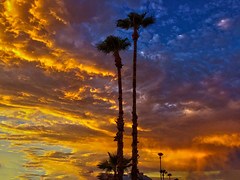 Tonight (oybay©) Tags: monsoon arizona sunset clouds cloudy color colors orange yellow red blue stormyweather weather summer summertime vistancia suncitywest heavenly