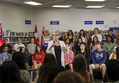 _MG_8324 Premier Kathleen Wynne visited Lawrence Park High School. (Ontario Liberal Caucus) Tags: school highschool colle hunter education students eglingtonlawrence toronto