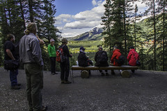 NPS Staff with Visitors (Patrick Gregerson) Tags: 2015 alaska august canon7d denalinationalparkandpreserve september clouds forest friends fun hiking landscape mountains outdoors outside snow summer sunny trails trees trips vegetation view wilderness wildlife work nps staff visitors communication