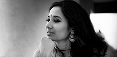 IN THE WIDER FRAME-- (Ravmad) Tags: portraits people actress blackandwhite monochrome fujifilmgfx50s fujinonlenses classical vocalist
