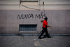 DSC_2972-LR (Charly Amato) Tags: argentina argentine laplata buenosaires provincia nuncamas street calle callejera rojo comunista communist red grafiti graffiti pared wall pintada aerosol nikon nikkor d7100