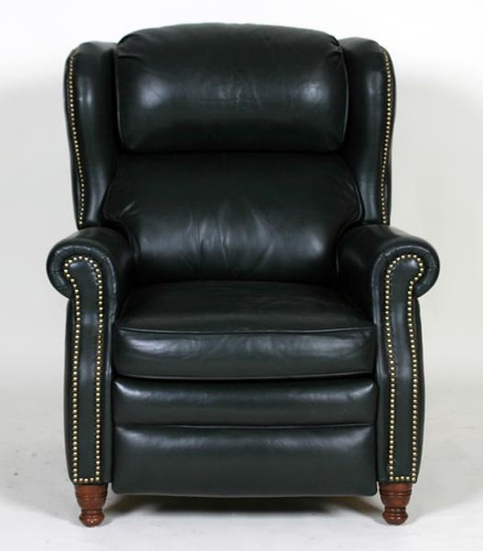 Braddington & Young Leather Wingback Recliner ($896.00)