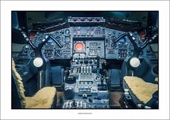 Concorde flight deck (explored) (G. Postlethwaite esq.) Tags: concorde devon rnasyeovilton sonya7mkii sonyalphadslr aircraft controls fleetairarmmuseum flightdeck fullframe mirrorless photoborder prototype002 seats