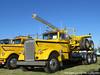 Foglio Trucking's 1956 Kenworth Log Truck (Michael Cereghino (Avsfan118)) Tags: brooks 25th annual 2017 truck show kenworth kw 1956 56 w900 w 900 daycab log legger logging semi trucking foglio