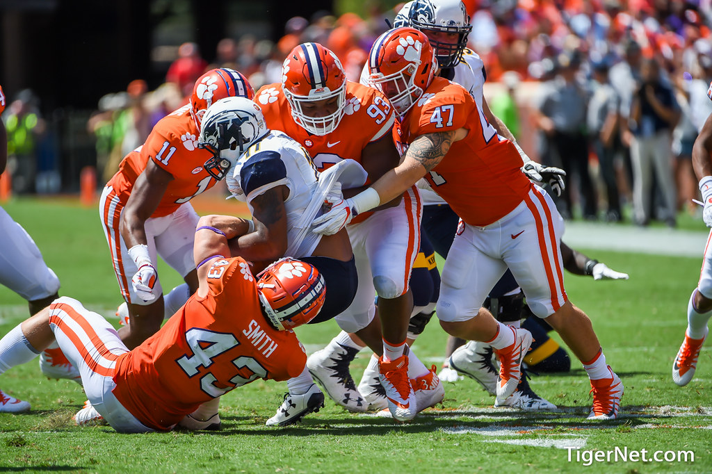 Clemson Photos: Chad  Smith, Sterling  Johnson, 2017, Football, kentstate