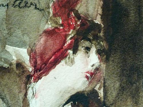 BOLDINI Giovanni - Jeune Femme coiffée d'un Chapeau rouge tenant un Sac rouge (Louvre RF39193) - Detail 67