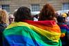 yes rainbow stand (brinypickle2012) Tags: marriageequality ssm samesexmarriage postalsurvey australia tasmania hobart rainbows rally