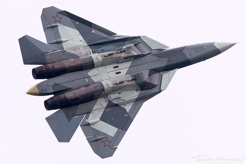 THAP00798 - Sukhoi T-50 Su-57 052 Russian Air Force