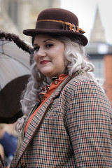 Asylum Steampunk Festival 2017 (Gordon.A) Tags: lincolnshire lincoln exchequergate asylum theasylum convivial lincolnasylum lincolnasylumsteampunk asylumsteampunk asylumsteampunkfestival lincolnasylumsteampunkfestival festival festiwal festivaali festivalen wyl festspiele steampunk steampunkstyle steampunkclothes steampunkfashion steampunklifestyle victorian neovictorian alternative cosplay costume creative culture lifestyle lady woman people peoplewatching street event streetevent eventphotography amateur streetphotography streetportrait colourportrait colourstreetportrait portrait naturalexpression naturallight naturallightportrait day daylight outside outdoor outdoorphotography town city citystreets urban urbanphotography canon canoneos750d
