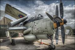 Fairey Gannet (Darwinsgift) Tags: fairey gannet yorkshire aircraft museum nikon d850 hdr nikkor 19mm f4 pc e tilt shift airplane plane