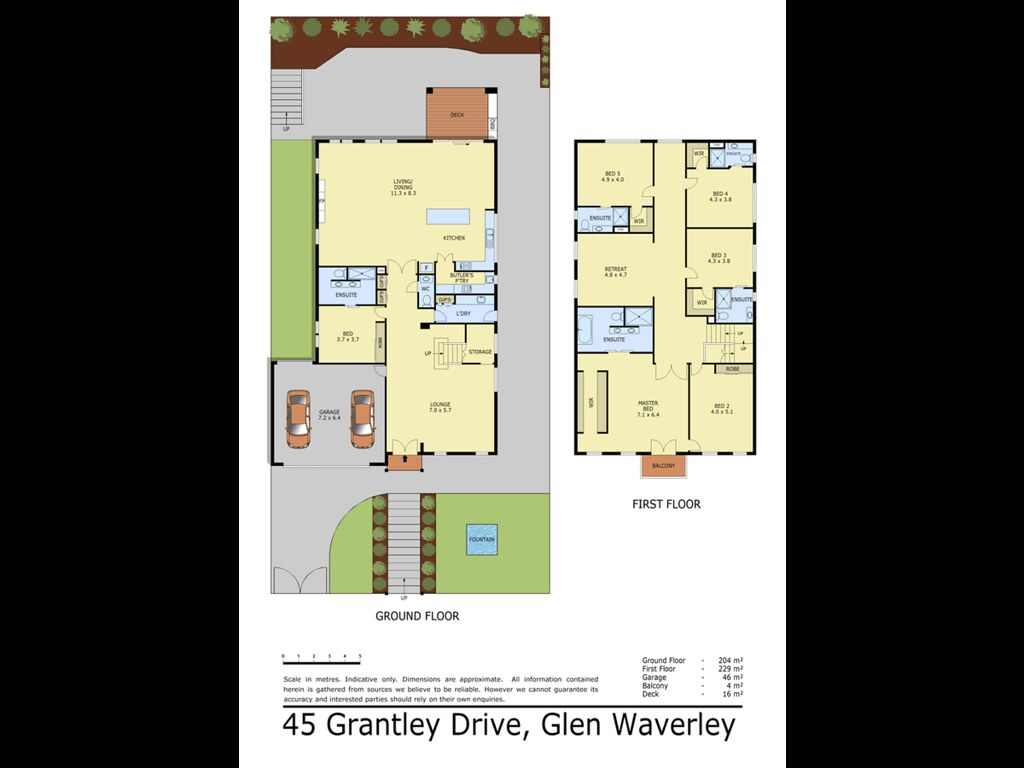 45 Grantley Drive floorplan