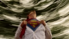 Quick Change (disgruntledbaker1) Tags: flying superman superhero spin
