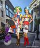 IMG_0064 (Fashion Fever Barbies) Tags: barbielovesmodernart hellokitty pietmondrian ysl