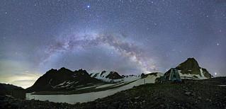 Abandoned ski base Upper Ala-Archa, Kyrgyzstan