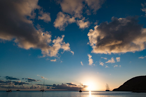 Segelyachten, Portsmouth, Nordwestküste, Dominica