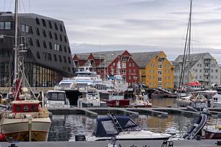 Tromsø marina, Norway