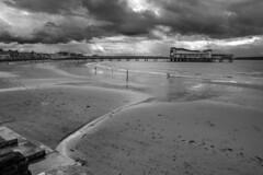 Grand Pier, Weston-super-Mare, Black and White, Monochrome