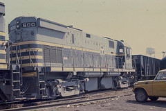 The Belt Railway Co. C424 #600 at Proviso on 4-11-76 (LE_Irvin) Tags: c424 chicago ihb proviso