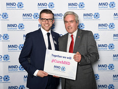 Backing MND Scotland at Parliament