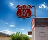 Club 50 Cafe Sign (nordbyc) Tags: nevada nv oxidized old abandoned crusty rusty desert mohave house lines texture club50 cafe sign logo
