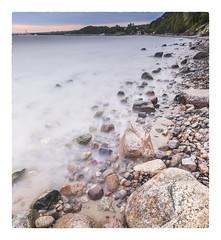 Milky beach (Sizun Eye (OFF for a while)) Tags: beach milky stones orlowo gdynia pomeranie poland polska pologne europe plage plaza cailloux nikon1424mmf28 nikond750 sizuneye nisifilters leefilters vüfilters le longexposure poselongue