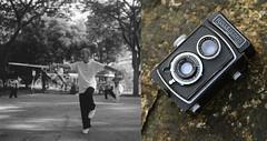 Rolleicord 1a & Tai Chi Master Ling (orzalana69) Tags: tai chi master 85 year old bw singaporestreetphotography singaporestreetscene singapore yishun martial arts analog filmphotography neopanacros100 rolleicord 1a orzalana german tlr