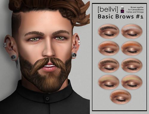 [bellvi] Basic Brow #1 { New Realise}