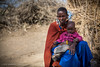 Maasai woman with a baby, Maasai Mara, Tanzania, June 2017 (Catherine Gidzinska and Simon Gidzinski) Tags: 2017 africa arusharegion june maasai maasaiwoman tanzania tz