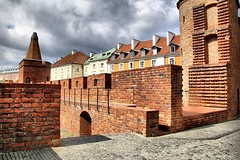 City Walls in Old Town of Warsaw (jackfre 2) Tags: poland warsaw citywalls walls fortifications oldtown defensive