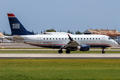 N828MD (Hector A Rivera Valentin) Tags: registration n828md airline us airways express republic airlines aircraft embraer 170100su airport san juan luis munoz marin intl tjsj