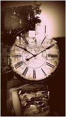 becoming numb (BedBrochFlick) Tags: numb clock cushion window