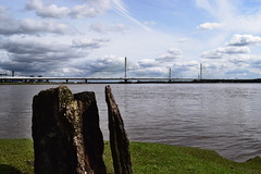 Mersey Gateway (jonknipe) Tags: new bridge runcorn widnes spike island mersey gateway construction